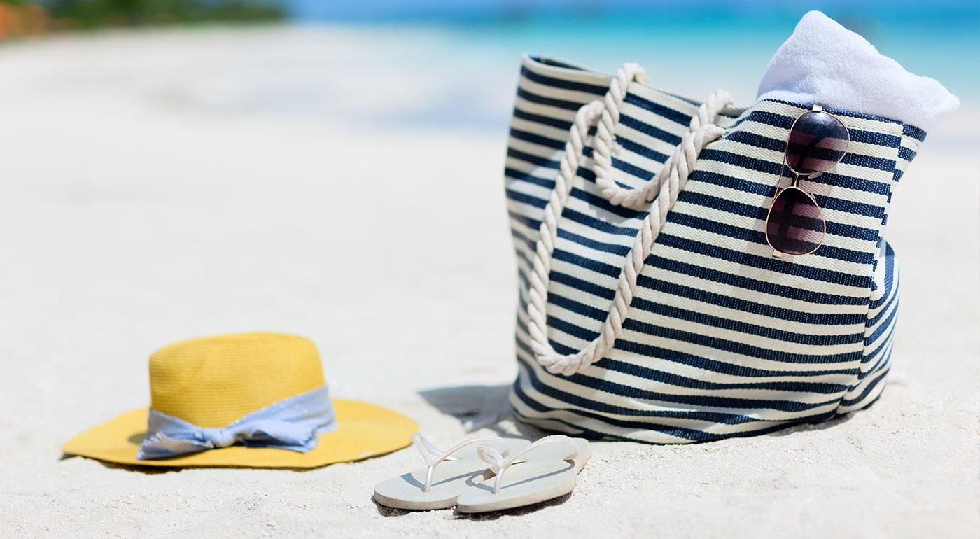 Moderné plážové tašky na každý deň!