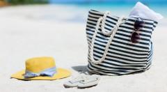 Zľava 47%: Vyberte si jednu zo 4 motívov trendy plážových tašiek len za 7,90 €! Poteší vás pevný materiál, veľa priestoru, zapínanie na zips a štýlový dizajn, s ktorým krok s módou určite udržíte! :-)