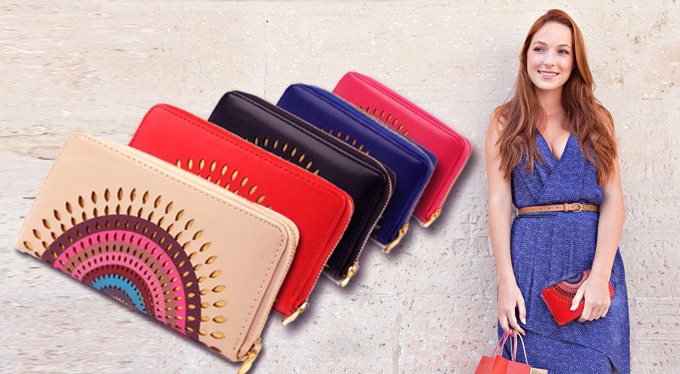 dec775925f Moderné dámske peňaženky mandala až v 5 farbách!