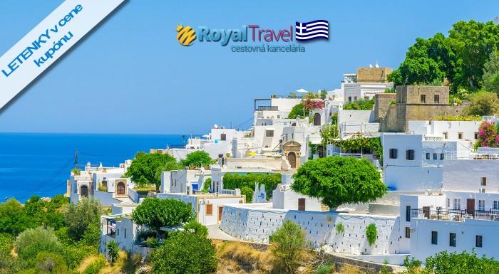 Fotka zľavy: Ostrov Rodos - vytúžená dovolenka na 8 dní len za 399 € vrátane ubytovania v hoteli, letenky a všetkých letiskových poplatkov s CK Royal Travel. Na výber hotely s All Inclusive alebo polpenziou.