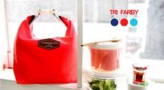 Zľava 55%: Vyberte si jednu z 3 farieb skladných termotašiek, ktoré udržia vaše pitie a jedlo teplé aj vychladené. Môžete ju niesť v ruke alebo ju poľahky vložiť do kabelky.