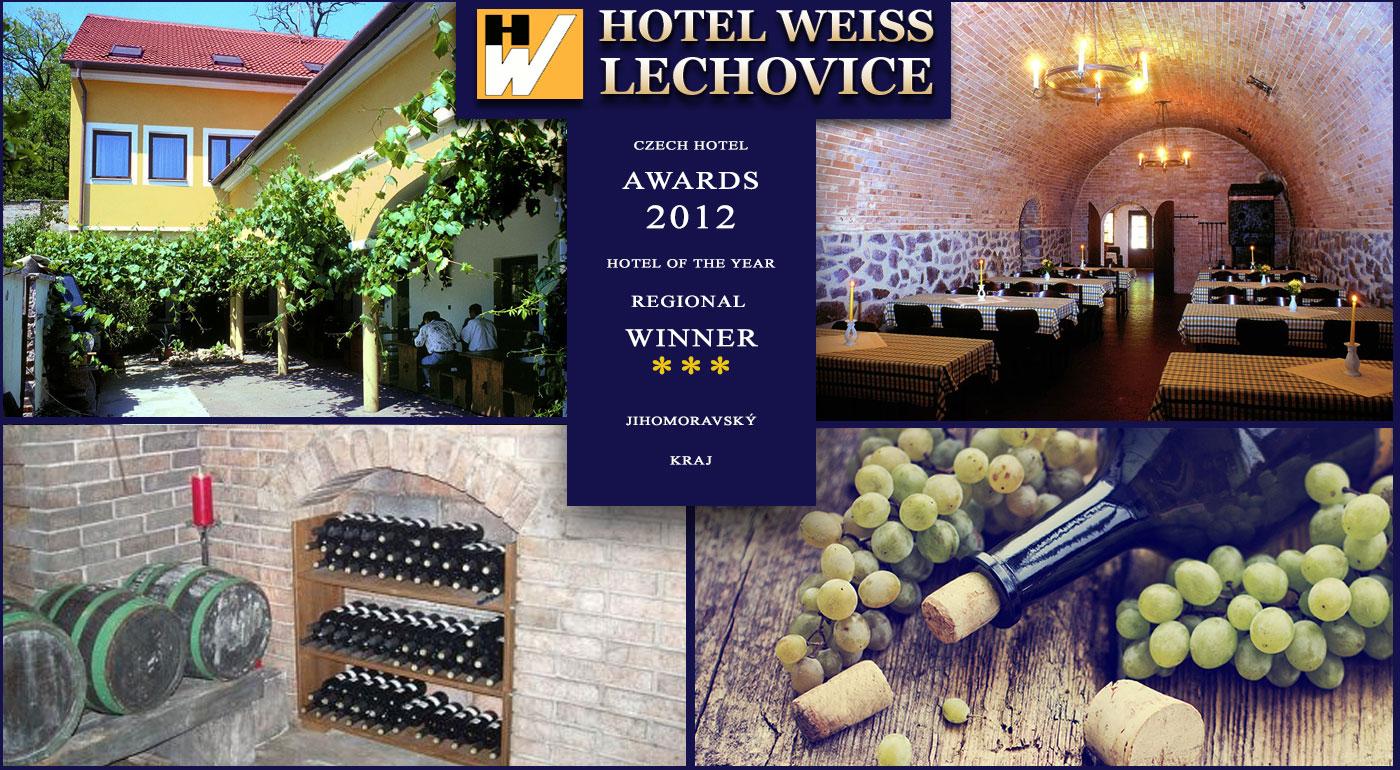 Fotka zľavy: Pobyt v Hoteli Weiss na južnej Morave neďaleko Znojma už od 74 € pre dvoch. Lahodné moravské vínko, útulné ubytovanie a výlety po okolí Znojma.