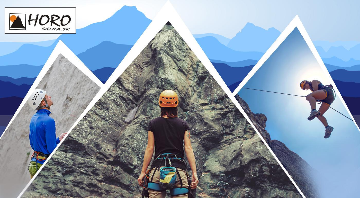 Zoznamovací kurz lezenia na skalkách pre začiatočníkov na Liptove