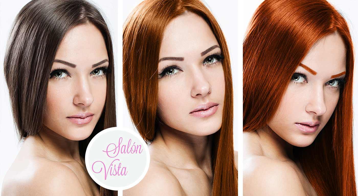 Styling, regenerácia alebo farbenie vlasov v Salóne Vista v centre Bratislavy