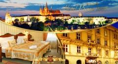 Zľava 64%: Spoznajte všetky krásy Prahy a ubytujte sa v luxusnom historickom Hoteli PRAGA 1885**** už od 53,90 € pre dvoch. Variant aj s romantickým obedom alebo večerou na lodi po Vltave.