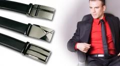 Zľava 63%: Elegantný a šik opasok z kvalitnej kože len za 10,99 €. Správny doplnok pre každého štýlového muža v troch modeloch a dvoch rôznych veľkostiach!