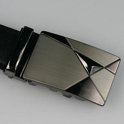 """Pánsky kožený opasok - model """"trojuholník"""""""