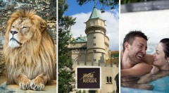 Zľava 55%: Hotel Regia*** v Bojniciach - relax pre 2 osoby na 3 dni už od 68€. ZOO, zámok či kúpele doslova na dotyk a k tomu polpenzia, wellness, fitness i zľava na masáže!