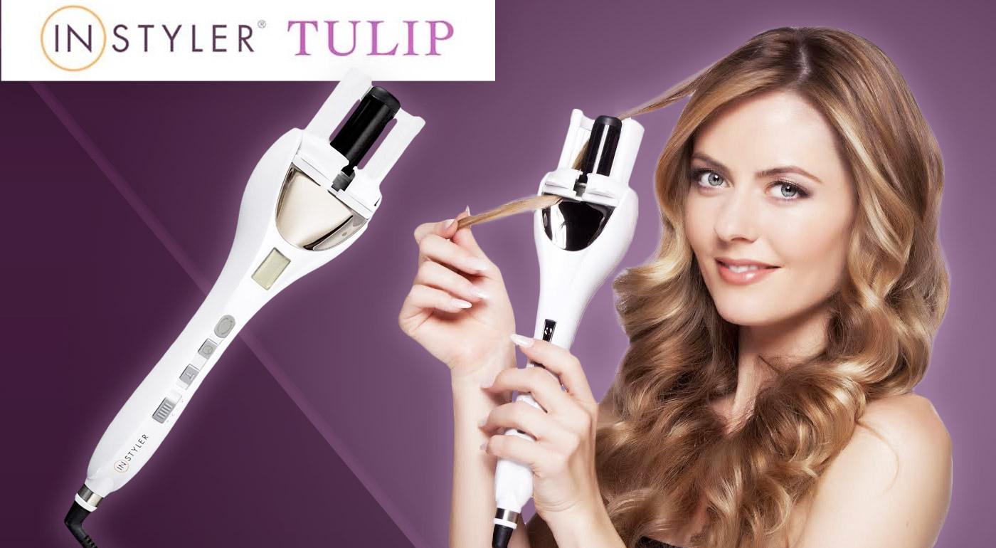 Profesionálna kulma InStyler Tulip pre dokonalé vlny ako od kaderníka