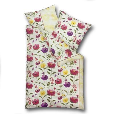 Model A  - lúčne kvety, vankúš 80 cm x 80 cm, perina 135 x 200 cm