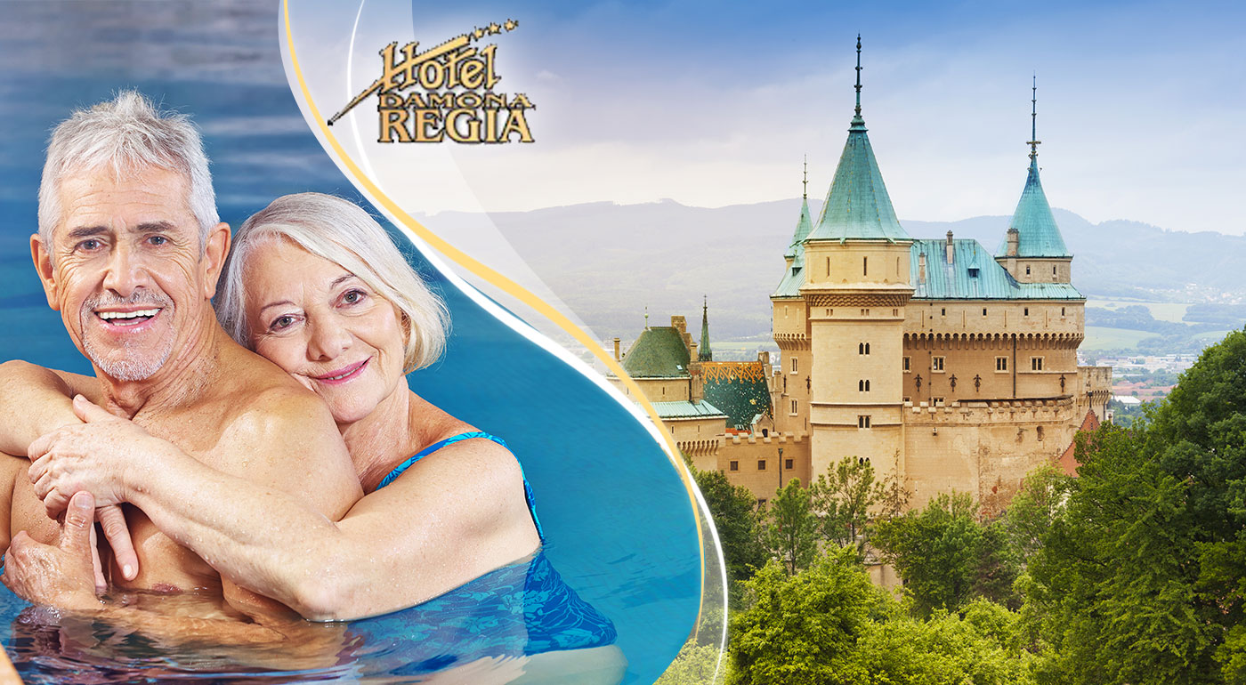 Pobyt pre seniorov v Hoteli Regia*** v nádhernom kúpeľnom meste Bojnice. Kupón platí až do konca decembra 2016!