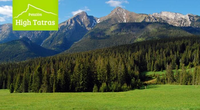 Fotka zľavy: Vysoké Tatry ako na dlani! Ubytovanie s raňajkami pre 2 osoby len za 65 € v obľúbenom Penzióne High Tatras. Užite si víkend v malebnom prostredí Vysokých Tatier!