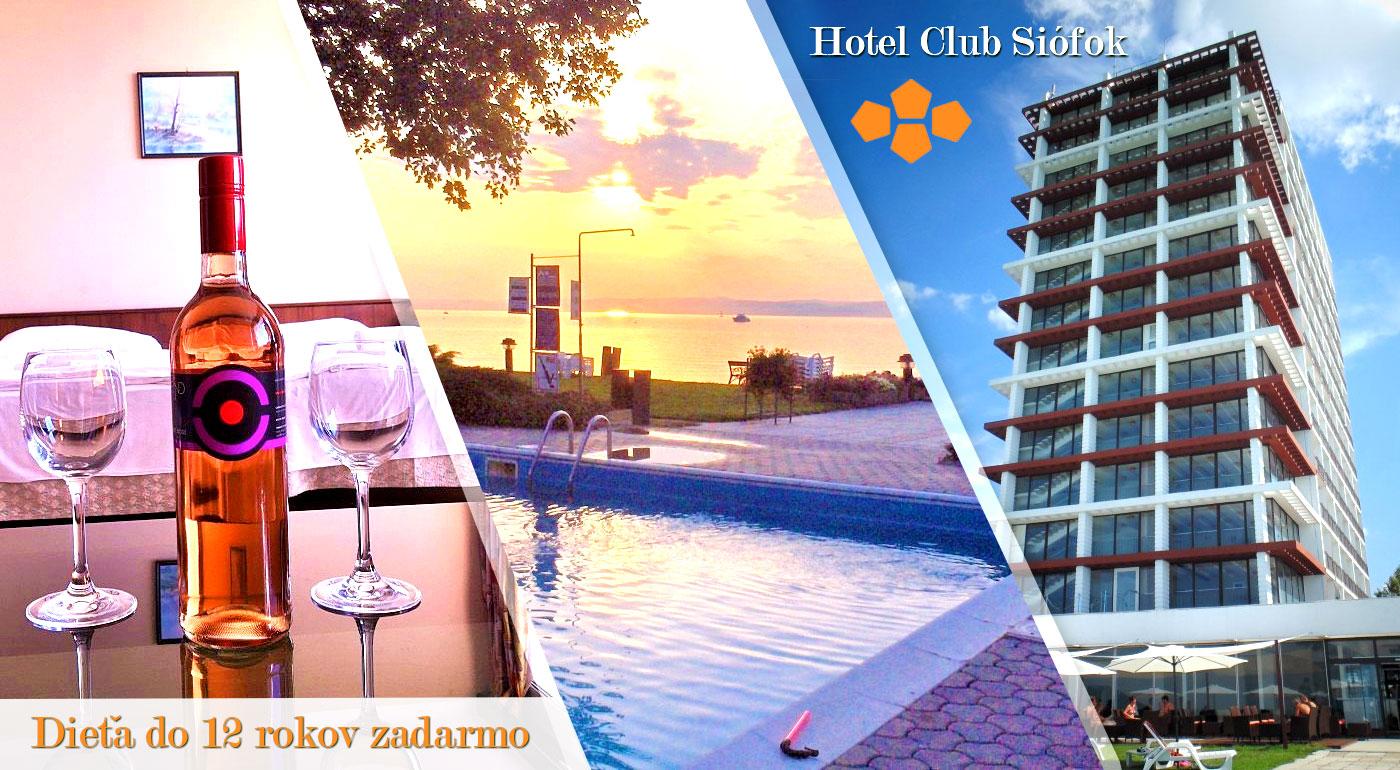 Relax pri mori? Poďte vo dvojici k maďarskému Balatonu do Hotela Európa a Hungária*** v obľúbenom letovisku Siófok!