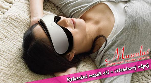 Uvoľnenie a úľava pre vaše oči - relaxačná masáž očí.