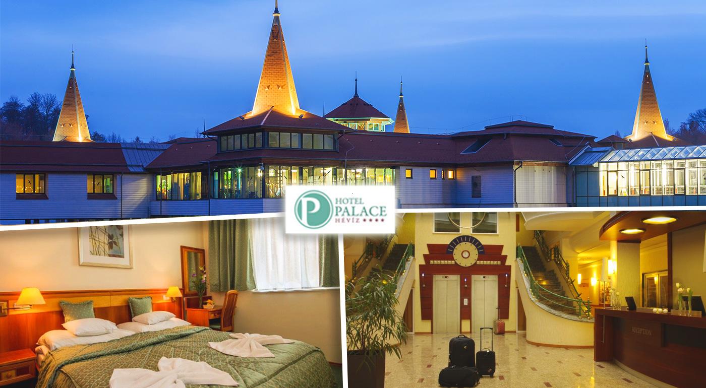 Dovolenkou proti jarnej únave! Blahodarný oddych v maďarskom Hévíze v Hoteli Palace****