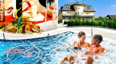 Zľava 60%: Pobyt pre 2 osoby na 3 dni vo Wellness Hotel-M v Hajdúszoboszló v bezprostrednej blízkosti od Hungarospa len za 138 €. All inclusive, neobmedzené wellness a zľava na vstup do zážitkových kúpeľov.
