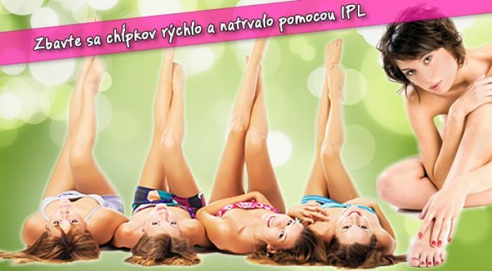 Fotka zľavy: Trvalá epilácia IPL - Health & Beauty Club Bratislava.