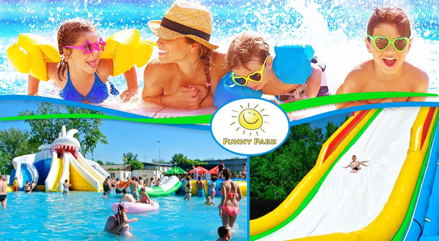 Fotka zľavy: Príďte si s rodinkou užiť slnečný deň plný zábavy a relaxu do kúpeľných Piešťan už od 2,90 €! Deti do 100 cm zadarmo.