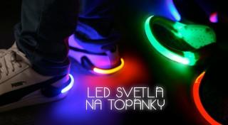 Zľava 70%: Vaše topánky budú tým najväčším hitom! Ozdobte si ich štýlovými LED svetielkami len za 8,90 € a vyberte si až zo 6 farieb. Vhodné aj na outdoorové aktivity, na zápästie či bicykel.