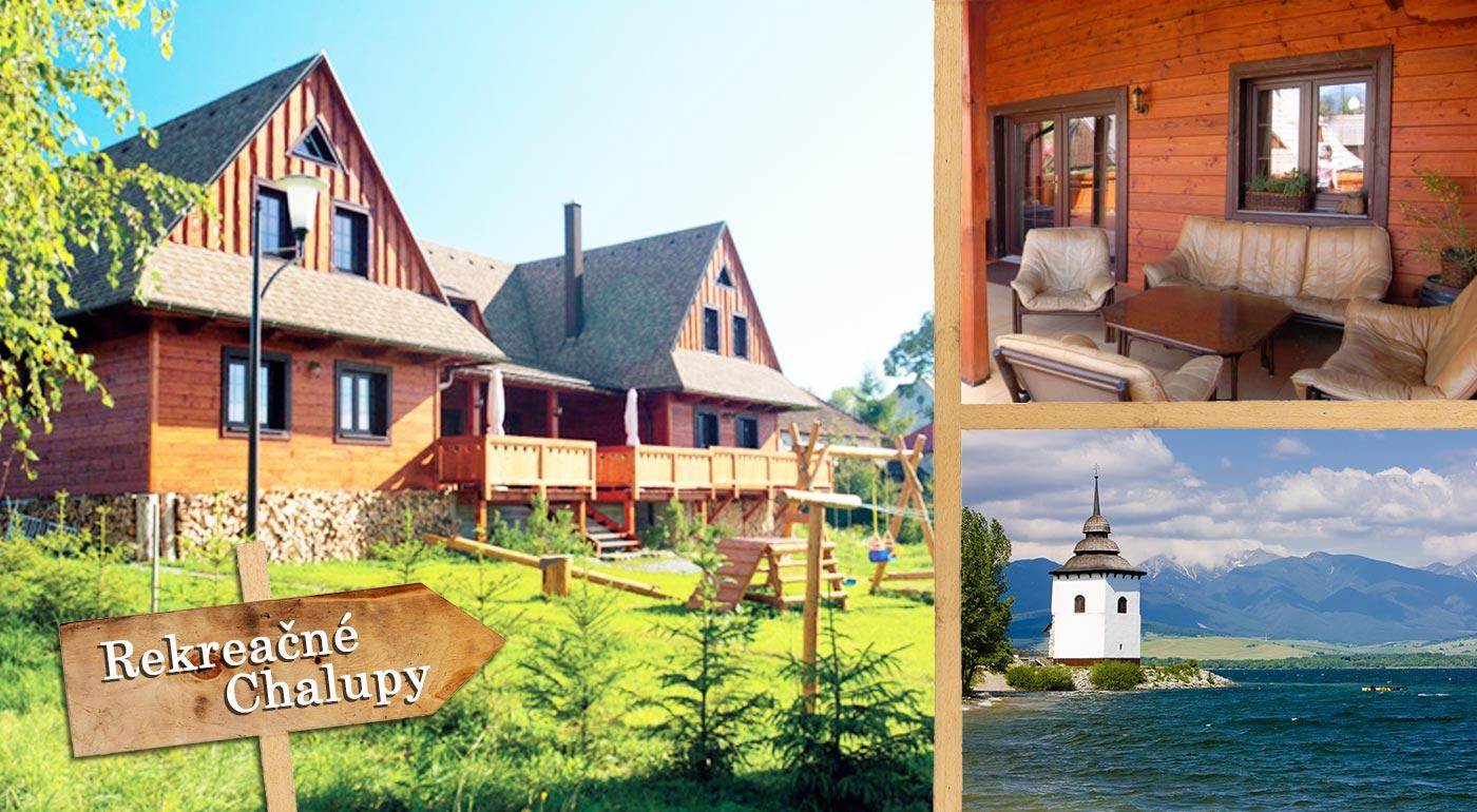 Skutočne pravá dovolenka na Slovensku? V štýlových drevených chalupách na Liptove a ešte aj so vstupom do Tatralandie!