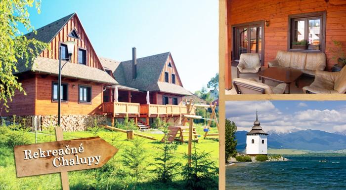 Fotka zľavy: Rodinný jarný pobyt na Liptove v rekreačných chalupách v blízkosti najvyhľadávanejších atrakcií cestovného ruchu na Slovensku pre 2 alebo 6 osôb už od 59 € so vstupenkou do ZOO a Tatralandie zadarmo.