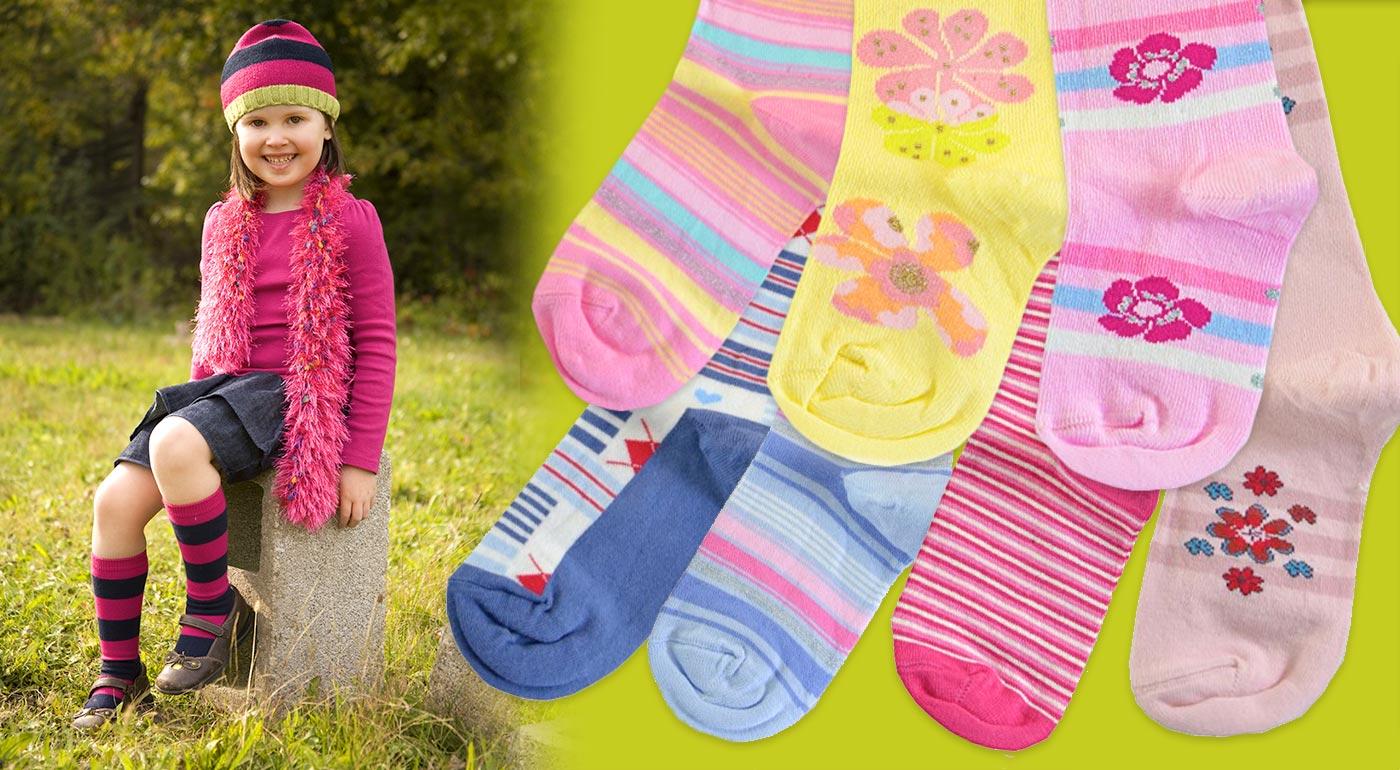 Kvalitné detské bavlnené podkolienky Gatta - 5 párov v balení!