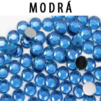Náhradné kamienky SS10 1440 ks farba: modrá