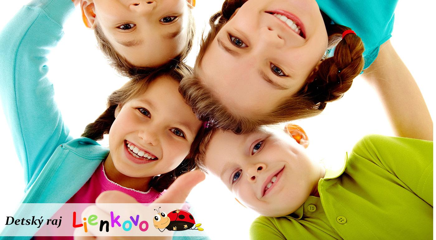 Zábavy a smiechu je najviac v dennom tábore Detský raj Lienkovo!