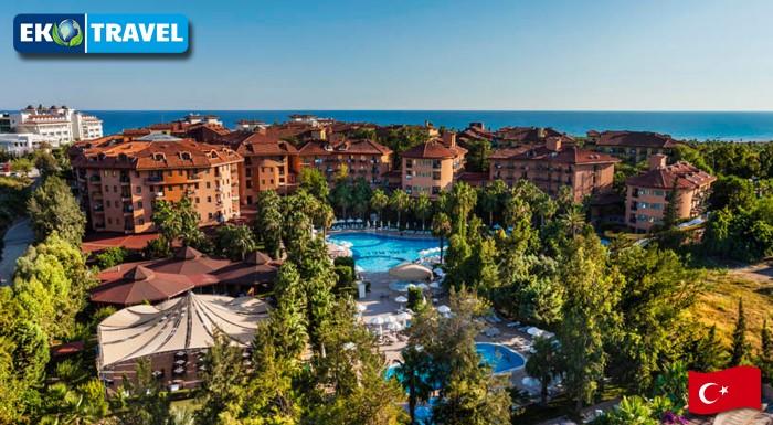 Fotka zľavy: Prežite 8 nezabudnuteľných dní v slnečnom Turecku v komplexe Vera Stone Palace*****  už od 559 € vrátane letenky so všetkými poplatkami a ALL INCLUSIVE. Termín na začiatku TOP letnej sezóny!