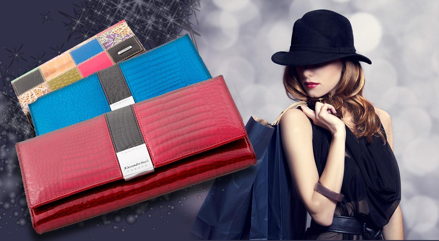 42fcd7be4 Luxusná dámska peňaženka z kvalitnej lakovanej kože - 9 modelov!