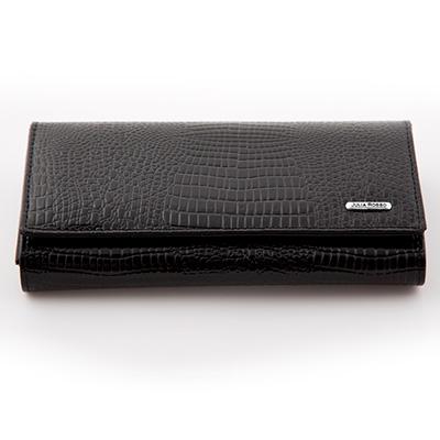 Dámska luxusná peňaženka JULIA ROSSO - čierna