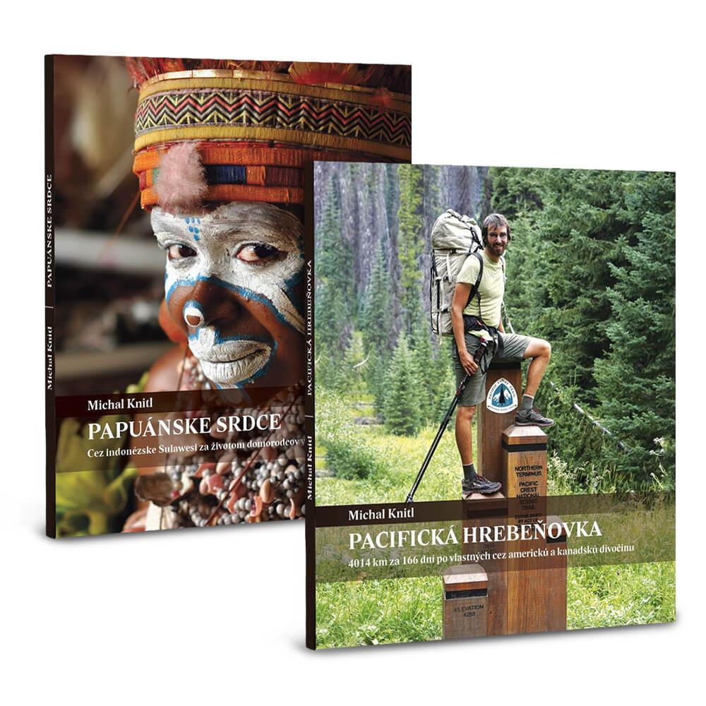 Balíček kníh od Michala Knitla - Pacifická hrebeňovka a Papuánske srdce