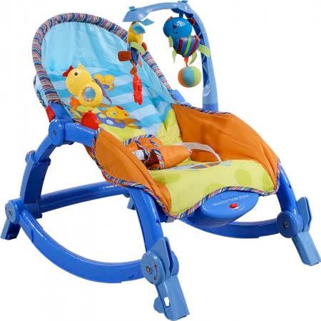 Detské ležadlo Arti Edu Soft Play - blue bird dog
