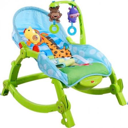 Detské ležadlo Arti Edu Soft Play - green giraffe