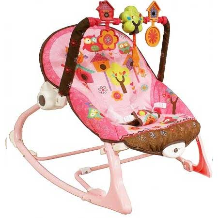 Detské ležadlo Arti Edu Soft Play - pink garden