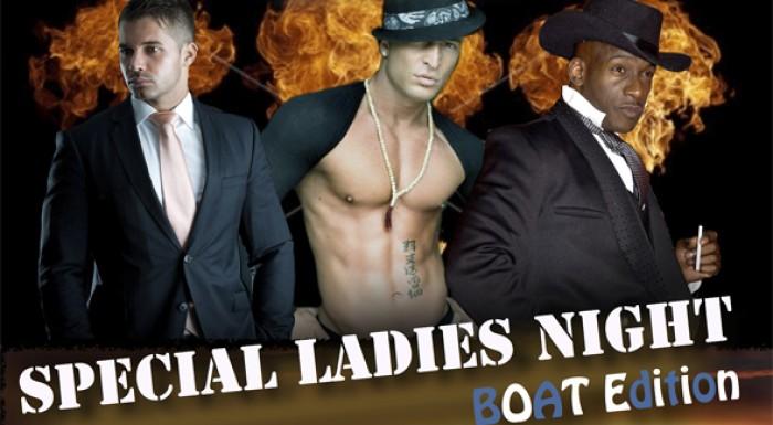 Erotické vystúpenie Special Ladies Night  na luxusnej lodi priamo na Dunaji.