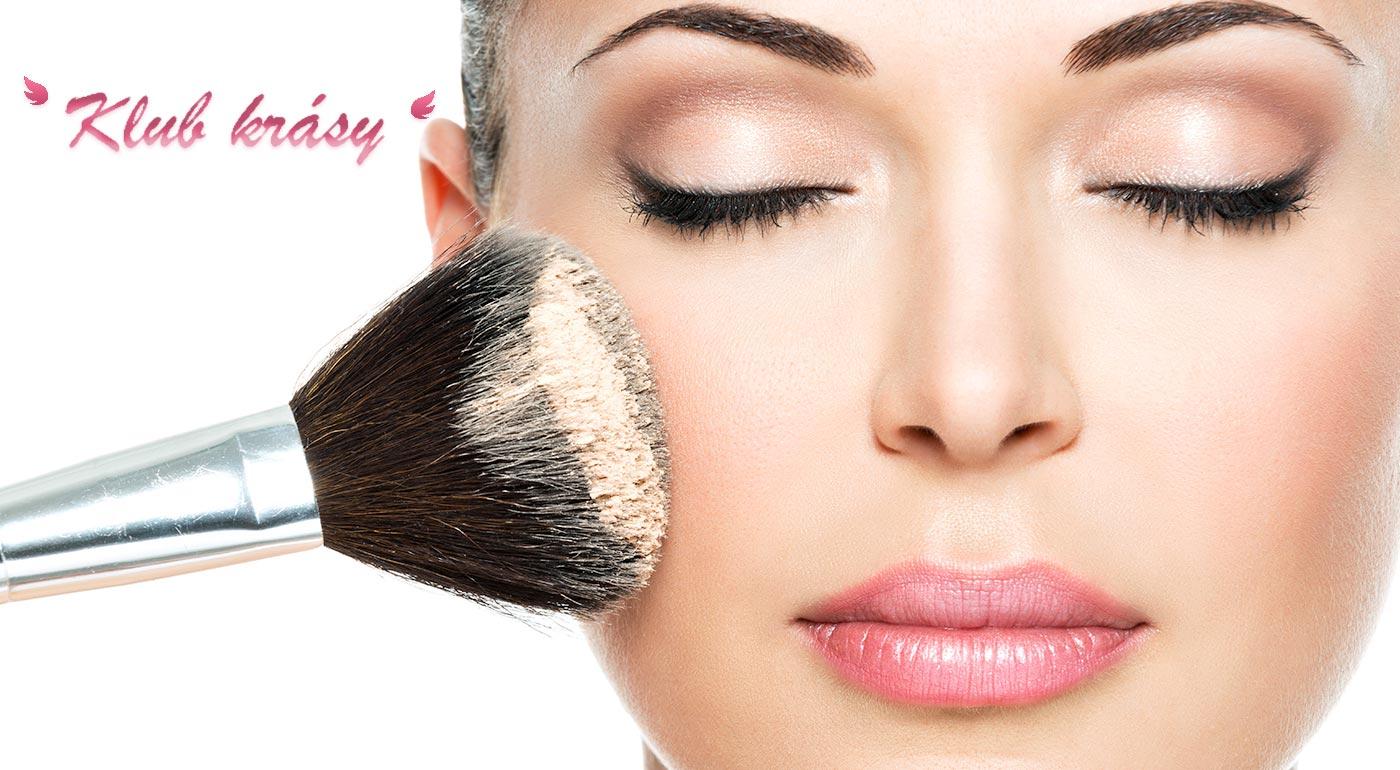 Kurzy líčenia alebo slávnostné líčenie s kvalitnou kozmetikou