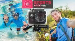Zľava 53%: Pochváľte sa pred svojimi známymi adrenalínovými zábermi spod vodnej hladiny. S pomocou Full HD kamery určenej do extrémnych podmienok natočíte kvalitné zábery.