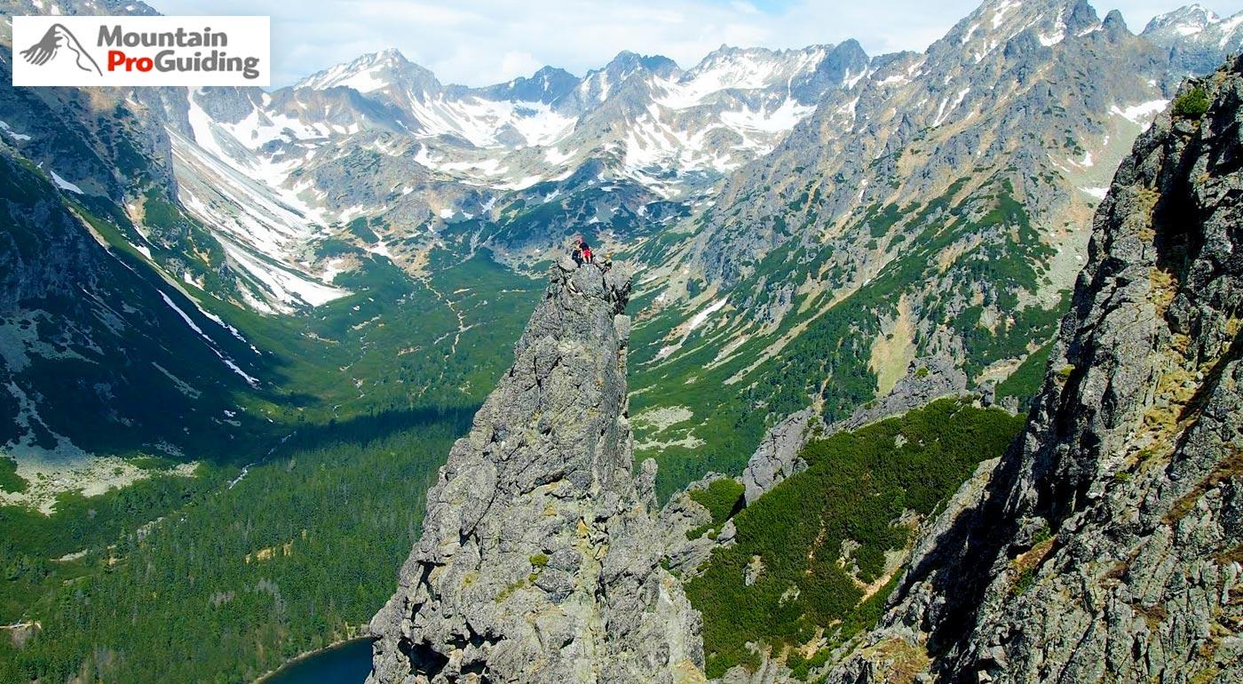 Adrenalínový výstup s certifikovaným vodcom na vrchol Ihla v Ostrve vo Vysokých Tatrách