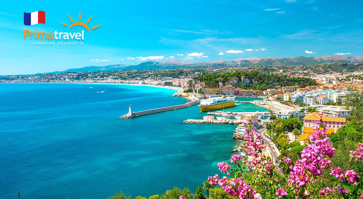 4 dni plné slnka, mora a okúzľujúceho francúzskeho šarmu pri Azúrovom pobreží