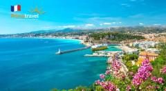 Zľava 27%: Francúzsko nie je len Paríž! Nechajte sa okúzliť šarmom Azúrového pobrežia a maličkým Monakom. Čo by ste povedali na predĺžený letný víkend pri mori úplne bez starostí?