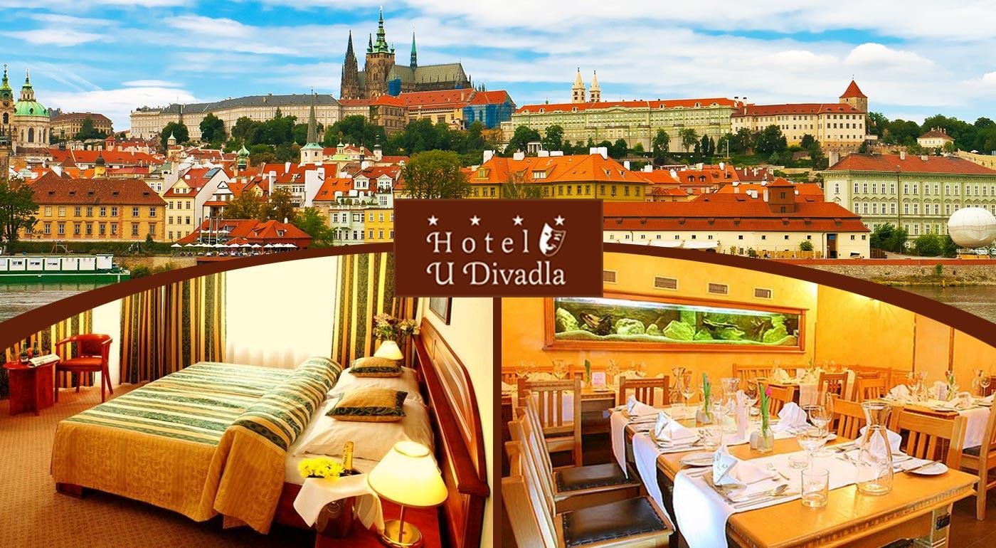 Rozkvitnutá Praha pre dvoch v hoteli U Divadla ****
