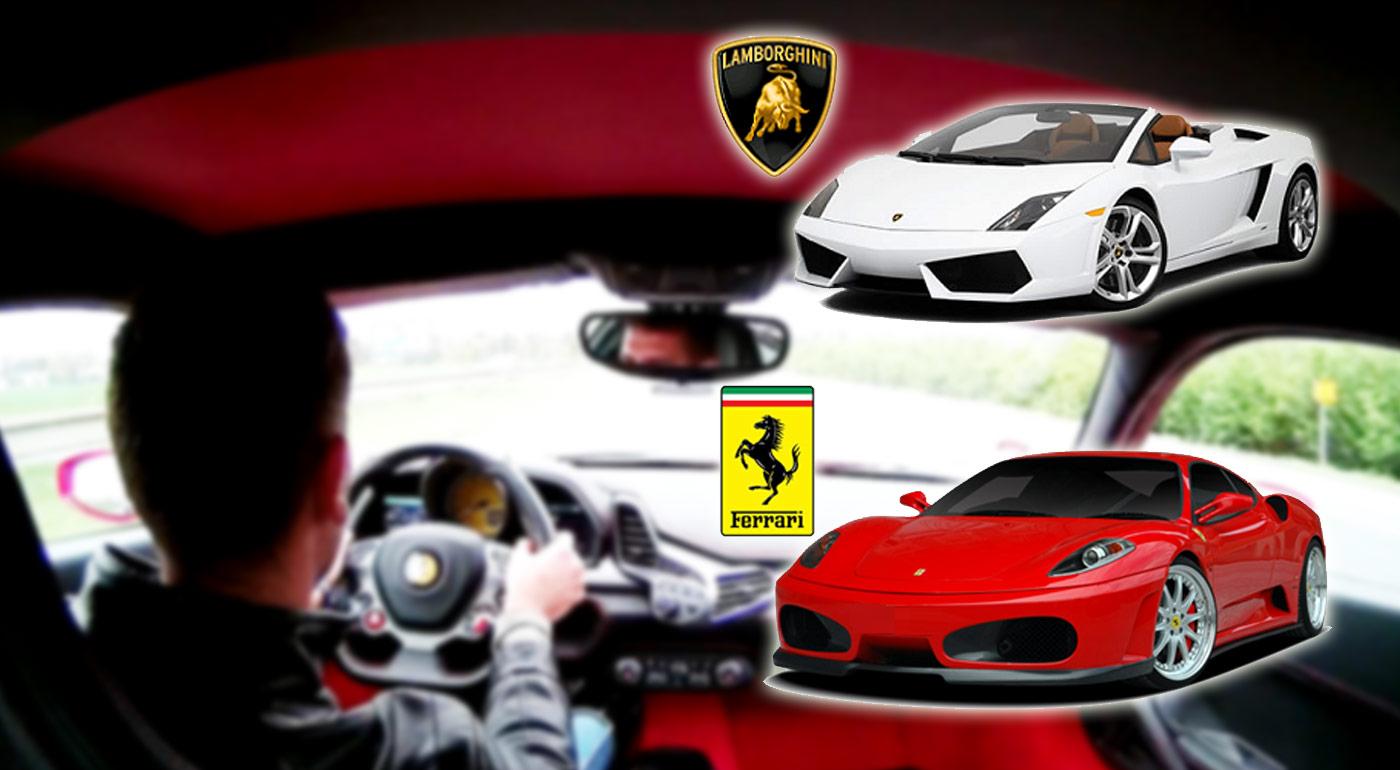 Zažite adrenalínovú jazdu na luxusných autách od Ferrari a Lamborghini