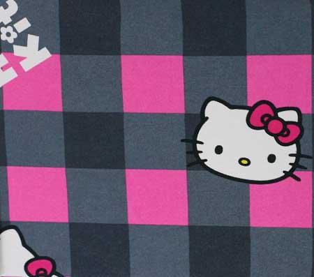 Nepremokavý detský chránič matraca Hello Kitty - vzor 3