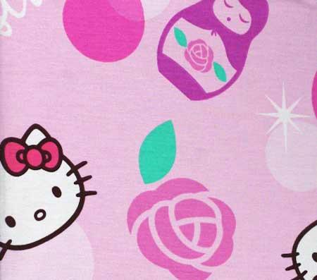Nepremokavý detský chránič matraca Hello Kitty - vzor 4