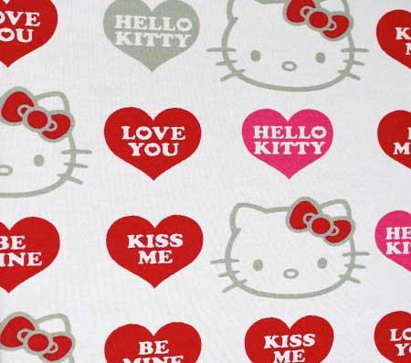 Nepremokavý detský chránič matraca Hello Kitty - vzor 5