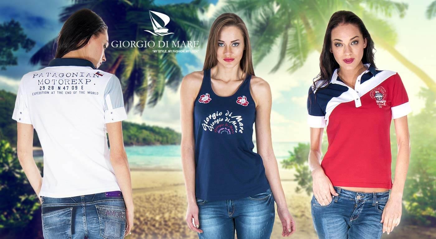 Značkové dámske tričká a tielka od Giorgio Di Mare