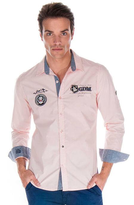 0e331bc1c3f3 Pánska košeľa s dlhým rukávom Giorgio Di Mare