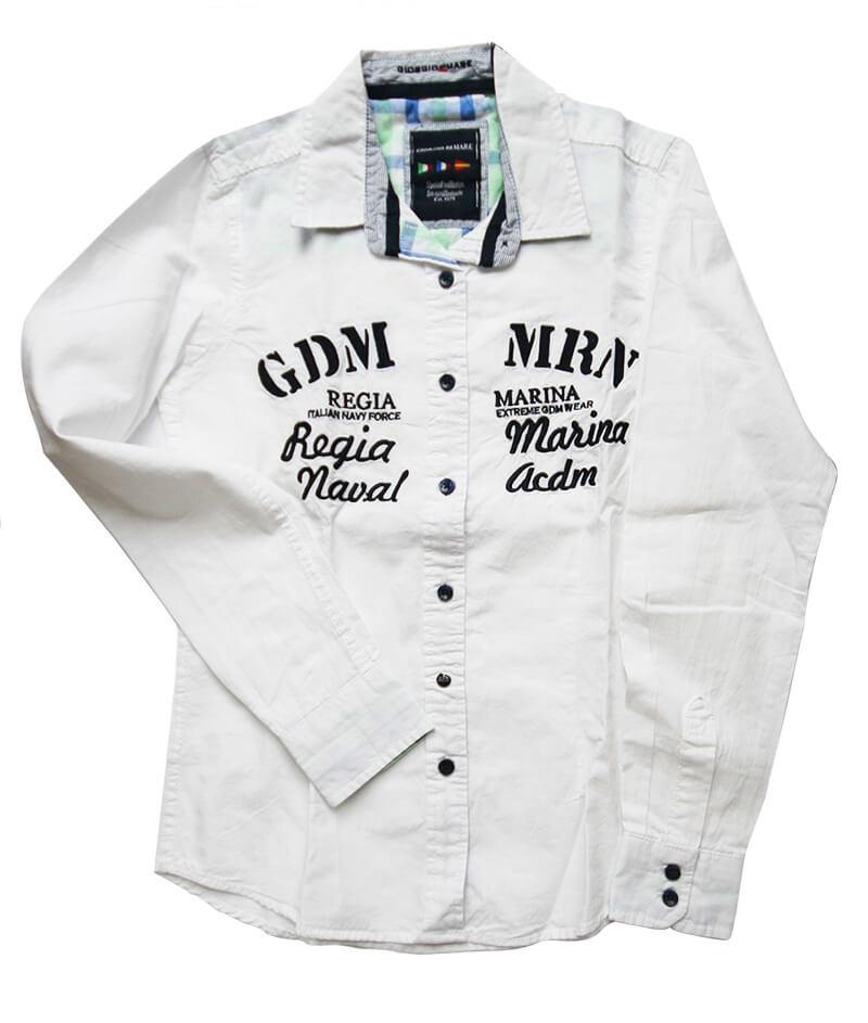 Dámska košeľa s dlhým rukávom Giorgio Di Mare, biela veľkosť S