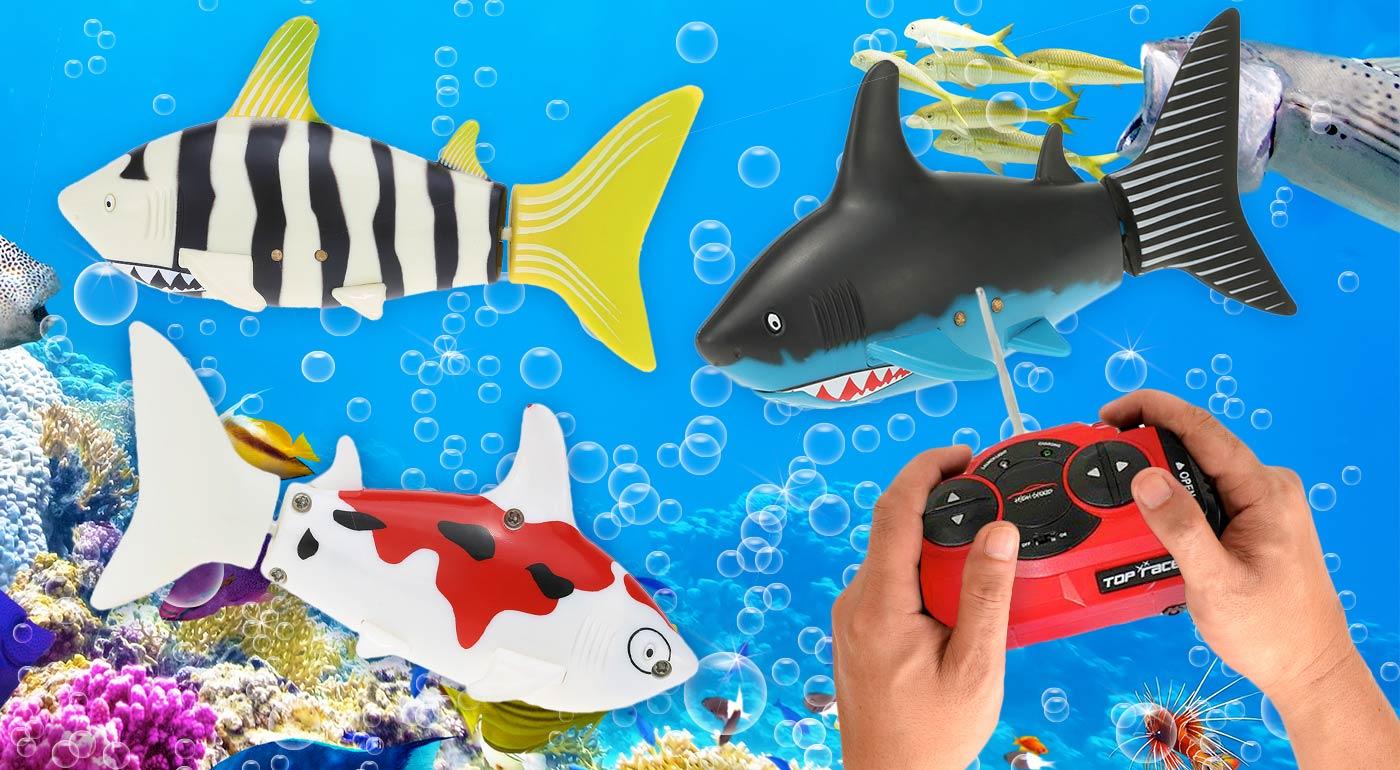 Robotická ryba do vody na diaľkové ovládanie, ktorá plní priania všetkých detí